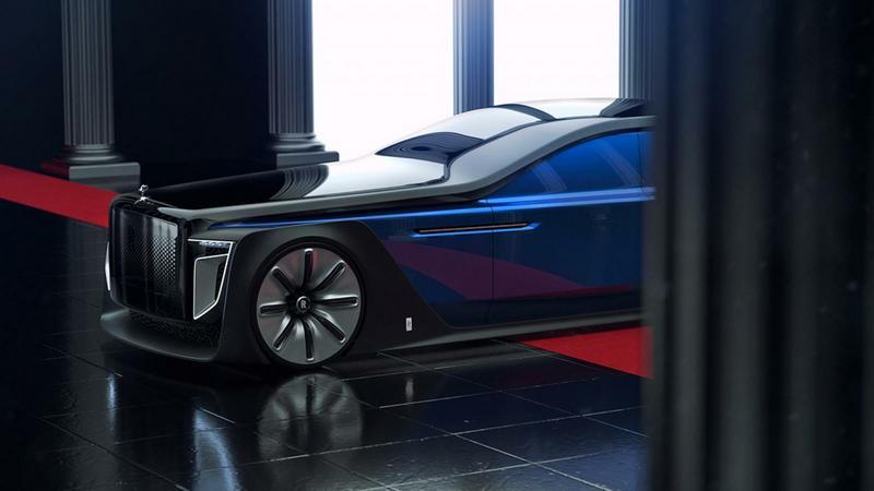 Rolls-Royce Exterion – retro-futurystyczna wizja