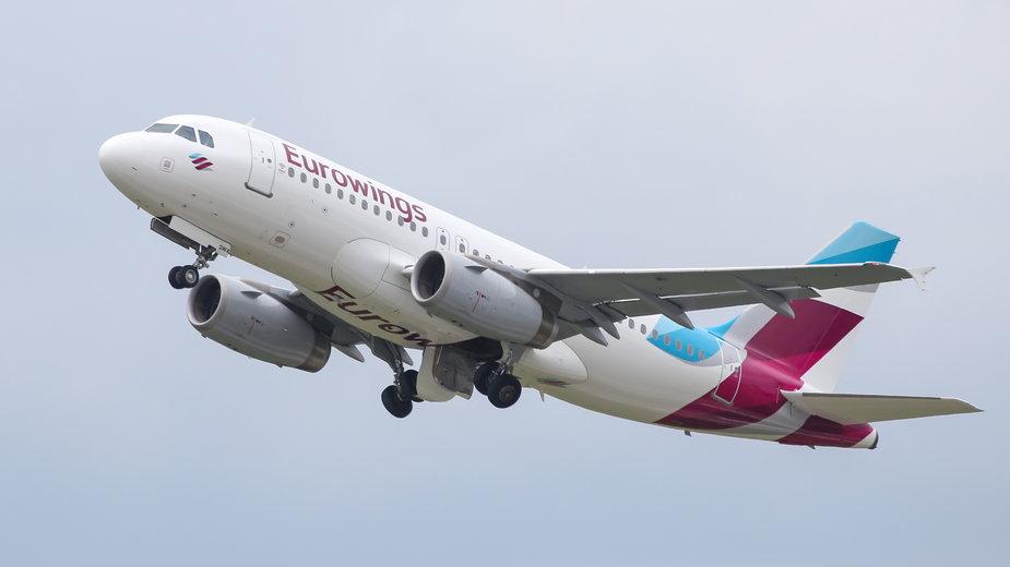 Samolot linii Eurowings