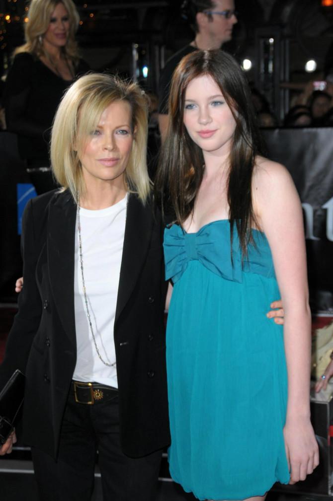Kim sa ćerkom Ajrlend 2008. godine