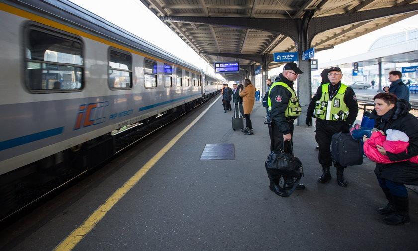 Remont trasy kolejowej do Warszawy