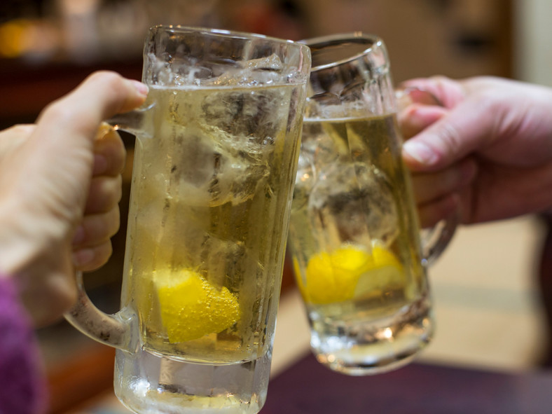 Japanese whiskey highball cheers cocktail alcohol