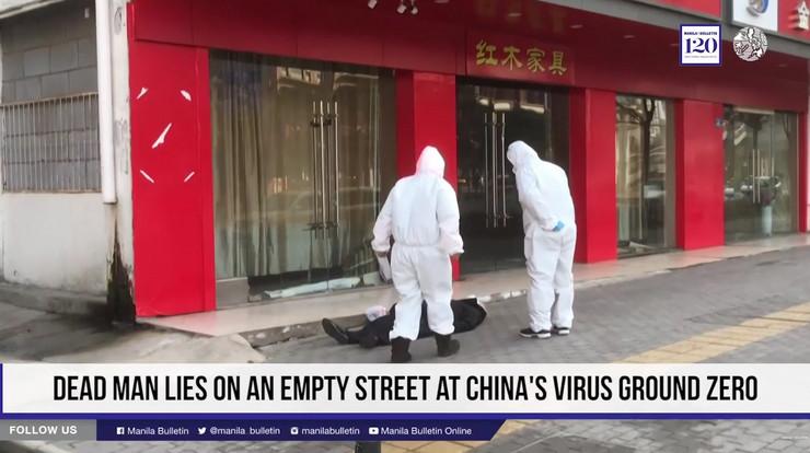 Kinez preminuo na ulici