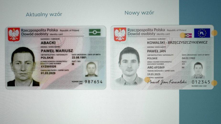 W Polsce będą obowiązywały nowe dowody osobiste