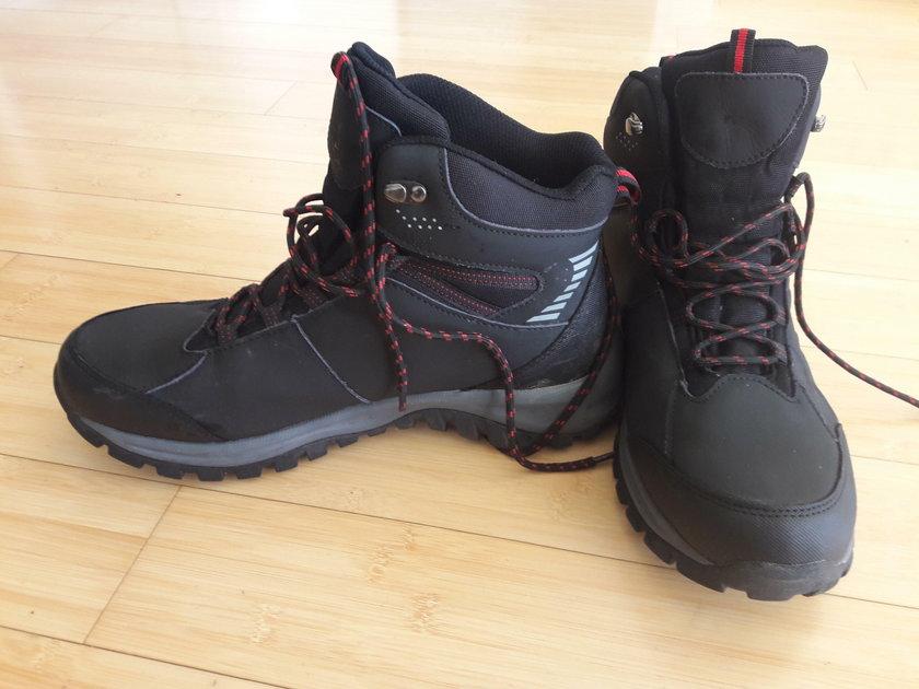 Test butów z Biedronki.