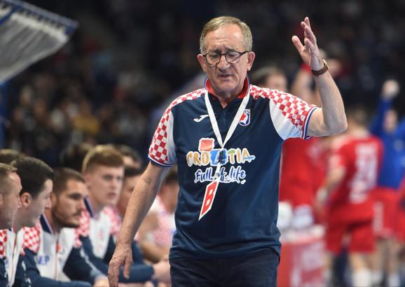 Lino Červar, selektor rukometne reprezentacije Hrvatske