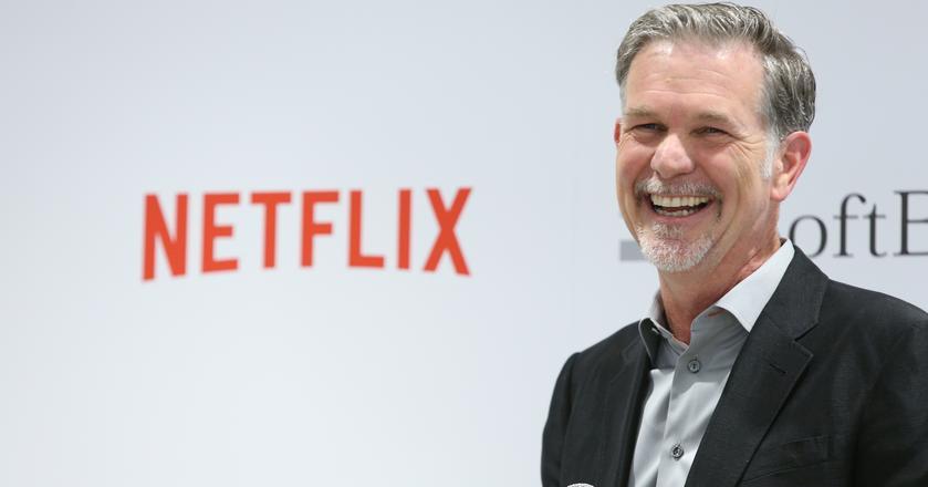 Reed Hastings, CEO Netfliska, stawia na rozwój w Europie, ale biuro powstało na razie w jednym kraju