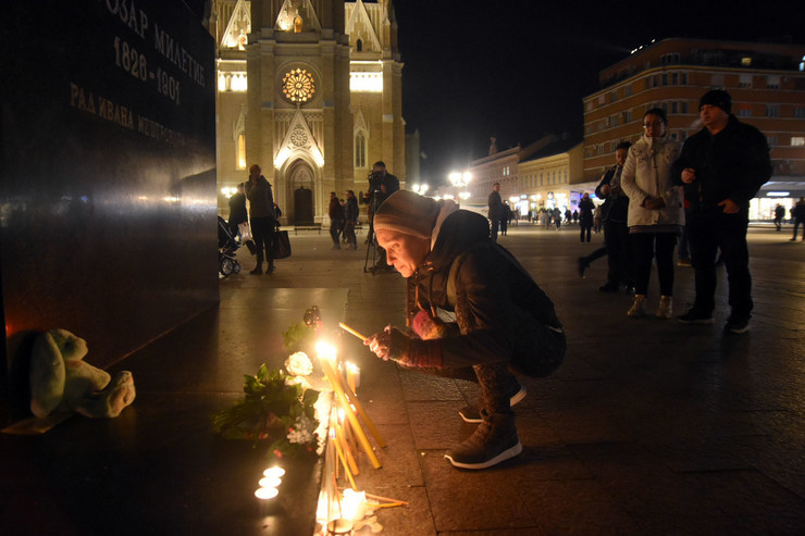 Đorđe Balaševi - Trg slobode, Novi Sad
