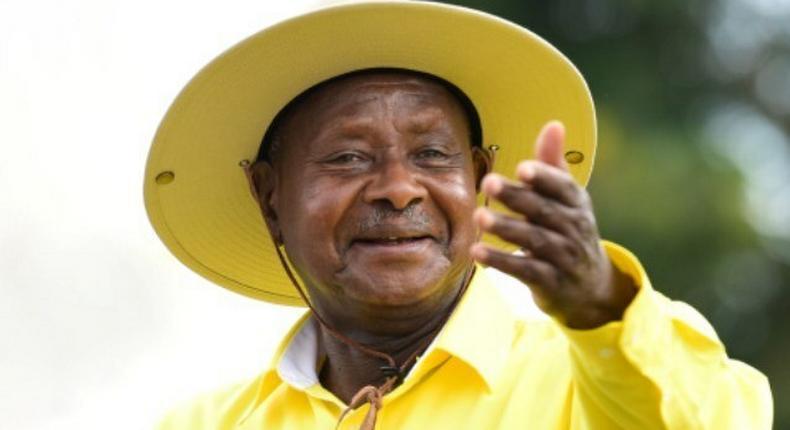 Uganda's strongman, President Yoweri Museveni