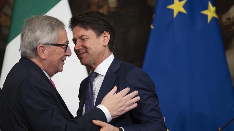 JEan-Claude Juncker w Rzymie