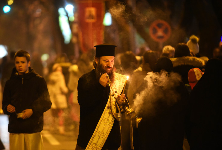 Crna Gora litije moleban