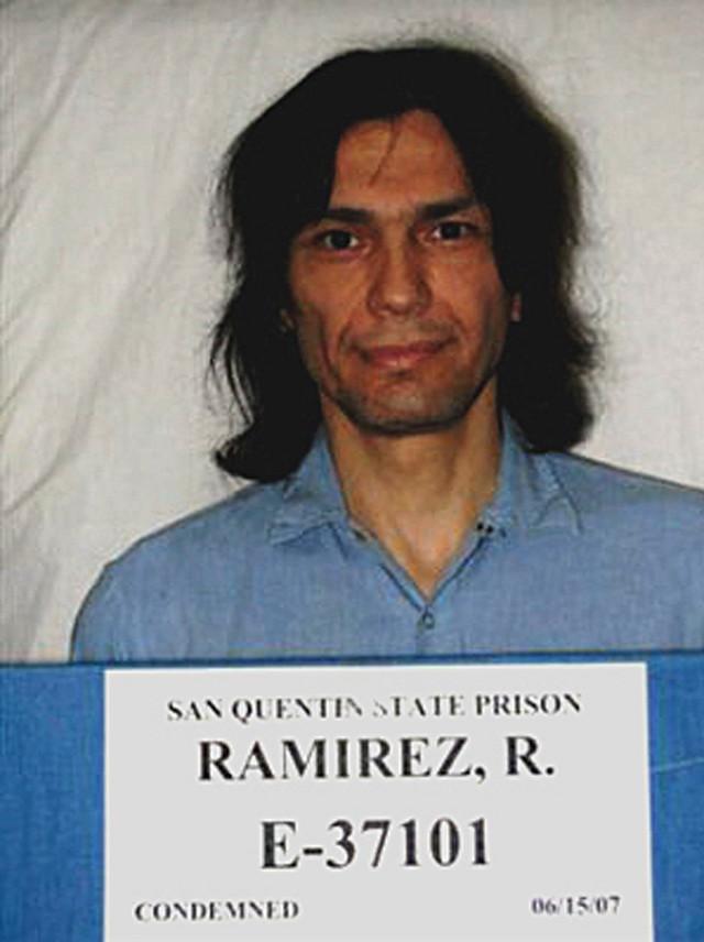 Ričard Ramires na fotografiji sa hapšenja iz 2007.