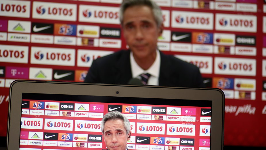 Trener reprezentacji Polski Paulo Sousa