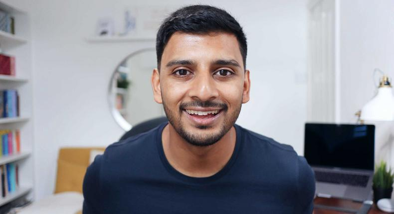 Afzal Hussein started his channel in 2018 after leaving Goldman Sachs.