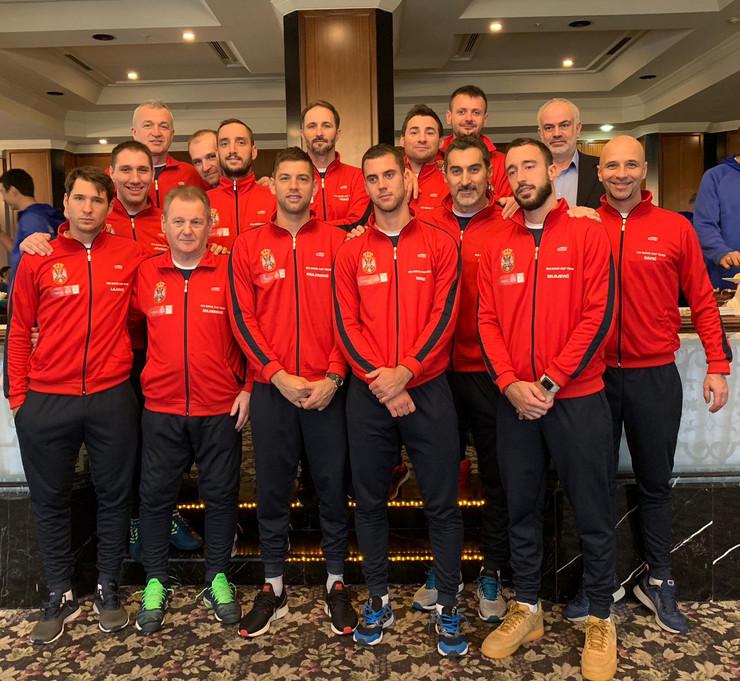 Dejvis kup reprezentacija Srbije