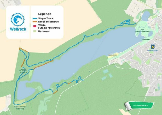 Mapa ścieżki Weltrack