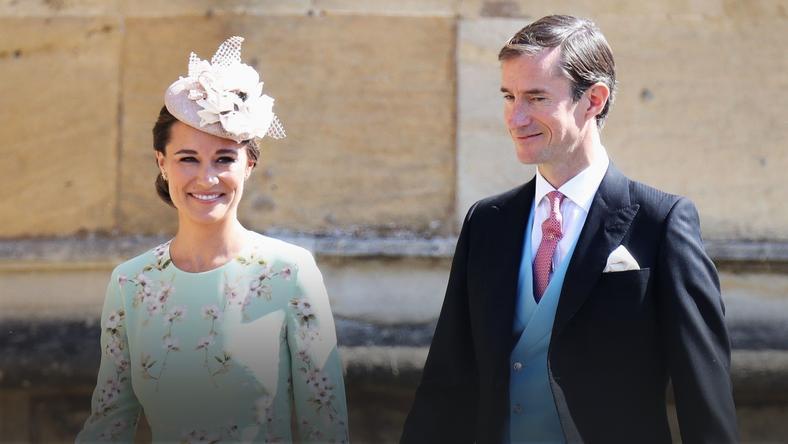 ślub Harryego I Meghan Pippa Middleton W Ciąży Zdjęcia Plejadapl