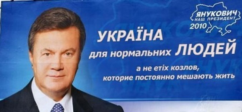 Wiktor Janukowycz, były prezydent Ukrainy.