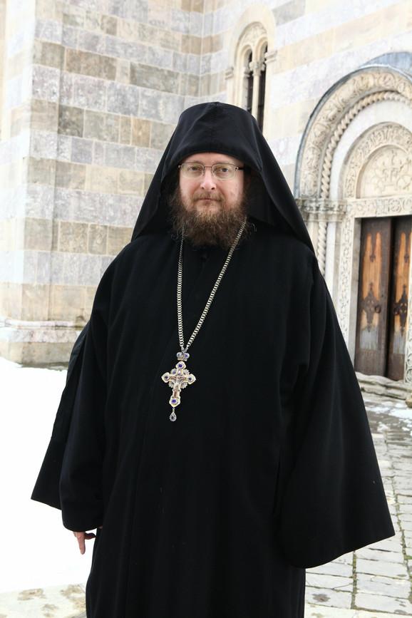 Otac Sava Janjić, Visoki Dečani