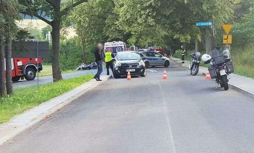 Tragiczny wypadek w Radkowie