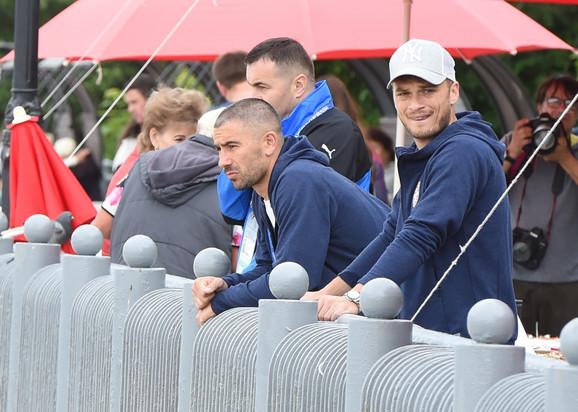 Aleksandar Kolarov i Adem Ljajić su uživali u centru Svetlogorska