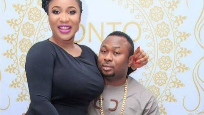 Tonto Dikeh & husband