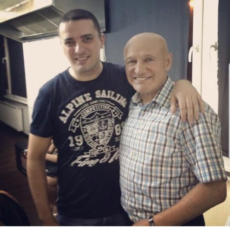 Šaban Šaulićž i Mirsad Kerić