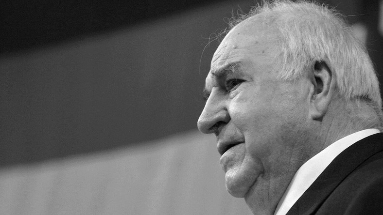 Helmut Kohl, były kanclerz Niemiec