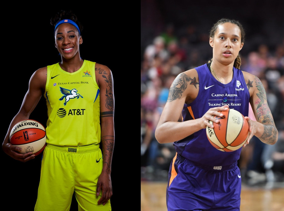 Brittney Griner i Glory Johnson