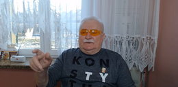 Podczas nagrania Lecha Wałęsy nagle do pokoju wchodzi kobieta. Reakcja? Bezcenna!