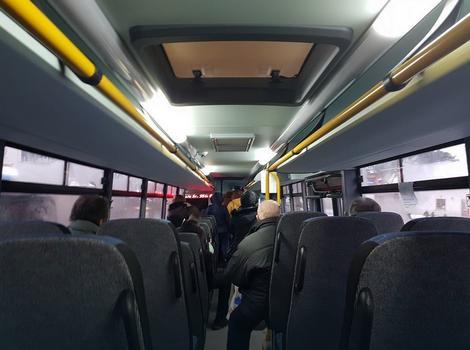Autobus 354, fotografisan juče