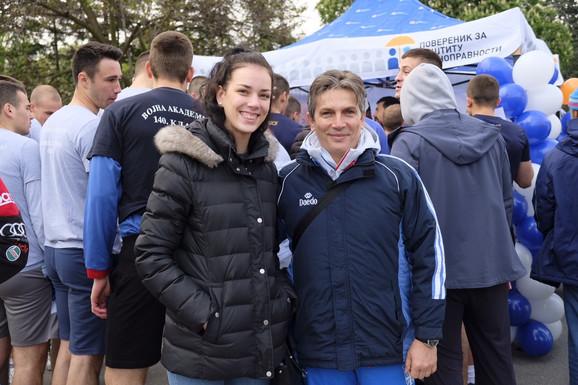 Tijana Bogdanović i Dragan Jović