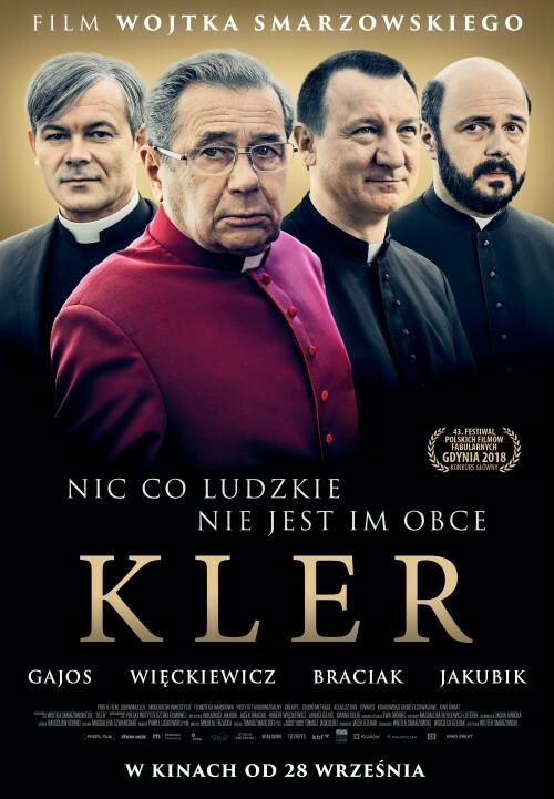 """Plakat do filmu """"Kler"""""""