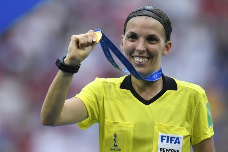 Stephanie Frappart will referee the game, fresh from taking charge of the women's World Cup final last month