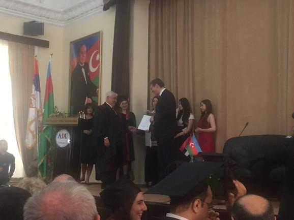 Vučiću je uručen počasni doktorat