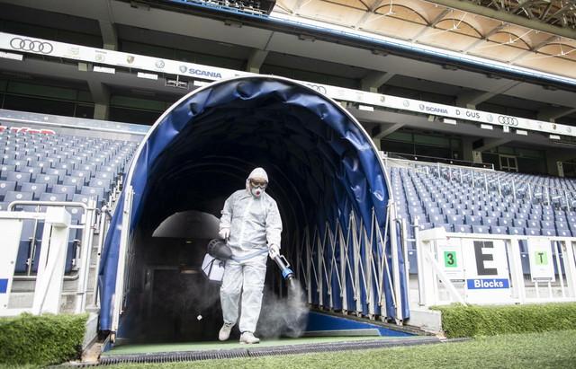 Dezinfekcija stadiona