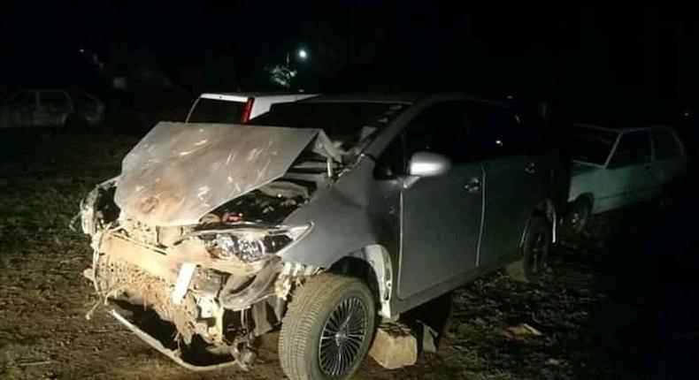 Jubilee legislator involved in grisly road accident [Photos]