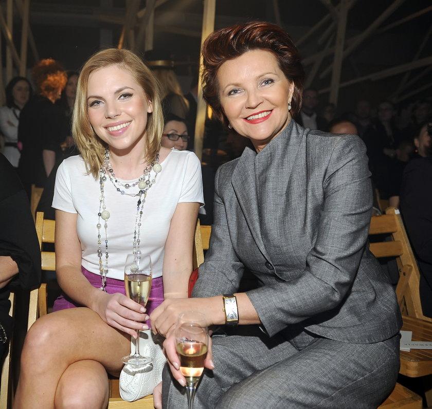 Aleksandra i Jolanta Kwaśniewskie