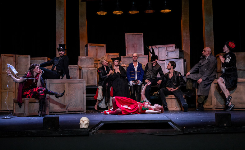 BEM! Powrót Człowieka-Armaty,Teatr Syrena. Fot. Zuzanna Gołaszewska