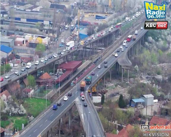 Pojačana frekvencija na Pančevačkom mostu