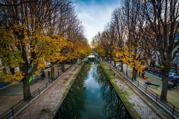 Kanał Saint Martin w Paryżu