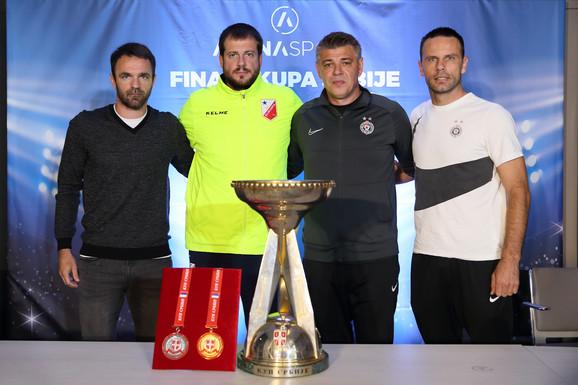 Detalj sa konferencije pred finale Kupa