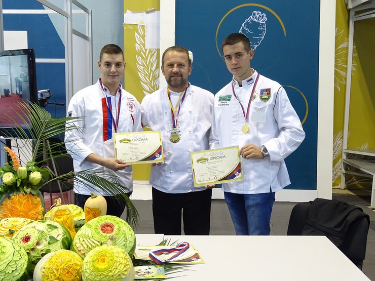Zlatna i srebrna medalja za naše studente gastronomije