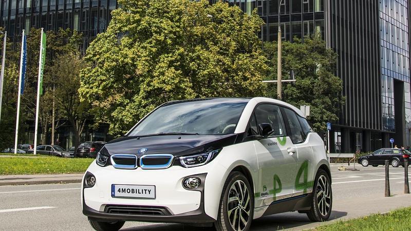 pierwsze auta elektryczne w systemie car sharing