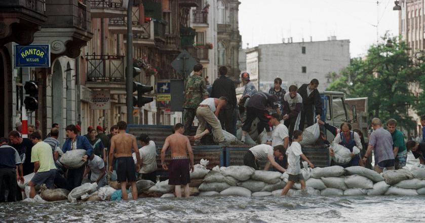 Powódź tysiąclecia - Wrocław, 1997