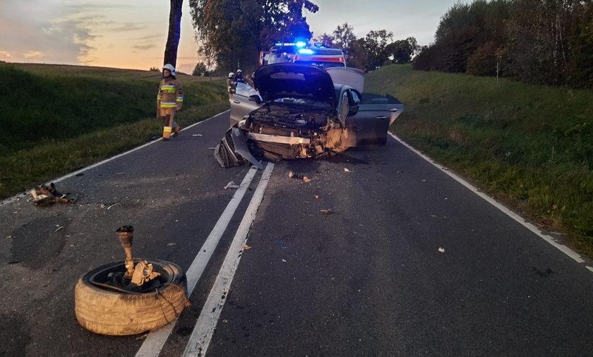 Tragiczny wypadek pod Olsztynem. Zginęły dwie kobiety.