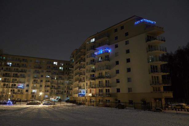 Blok na gdańskiej Morenie, w którym w jednym z mieszkań znaleziono ciało 43-letniego Przemysława Wałęsy