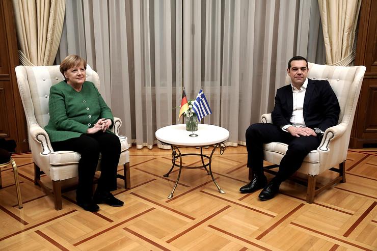 Angela Merkel, EPA-  SIMELA PANTZARTZI