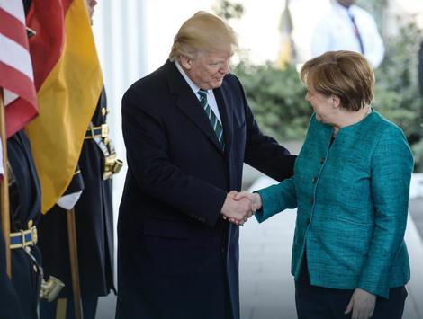 Sastanak Donalda Trampa i Angele Merkel