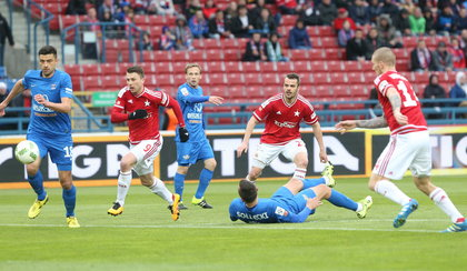 Bramkarz Termaliki strzelił gola! [SKRÓT]