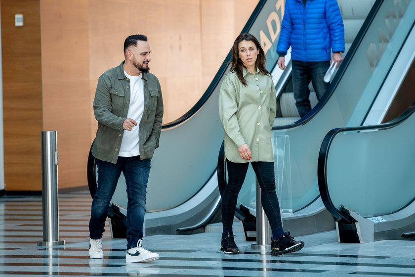 Agustin Egurrola i Joanna Jędrzejczyk